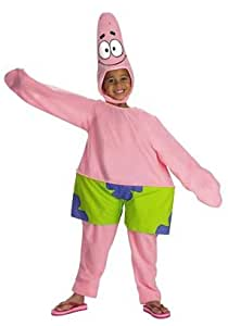 amazoncom child patrick star costume toddler toys amp games