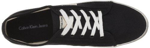 Calvin Klein Jeans FALLON CANVAS - Zapatos con cordones de lona hombre negro - Schwarz (BLK)