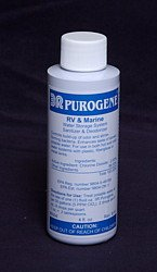 4.0 Oz Purogene Water Treatment, Water Preserver Concentrate 5 Year Emergency Disaster Preparedness, For Emergency Water Storage & RV Tank Water Treatment.