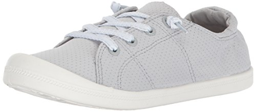 Madden Girl Women's Bailey-P Sneaker, Grey, 8.5 M US