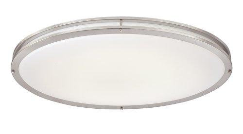 Designers Fountain 3200LED-35 LED Flushmount 32-Inch LED Flushmount, Satin Nickel ()