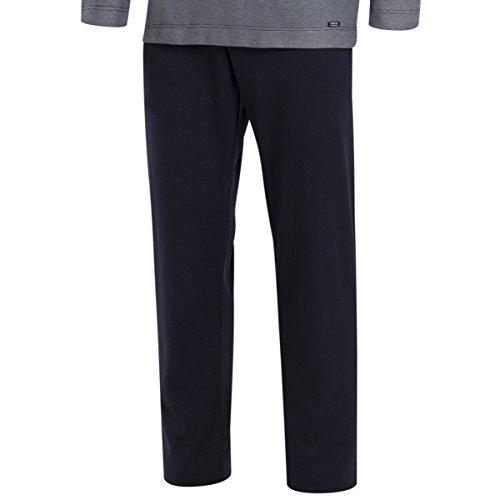 Impetus, Pijama cardado - Mumbai, 4551D99. Algodón, Color Marino, Talla XL: Amazon.es: Ropa y accesorios