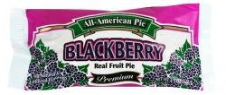 All-American Pie® Blackberry Real Fruit Pie 4.25 Oz [6 Packs] (Hostess Blackberry Pie compare prices)
