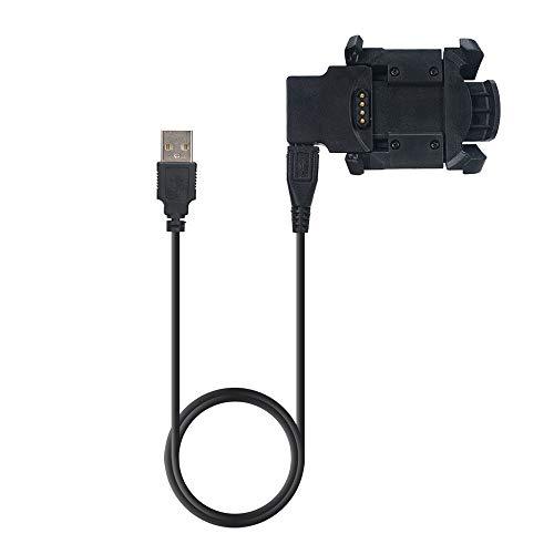 Becoler Adaptador de Cargador de Datos USB Cable de alimentación para Garmin Fenix 3 / HR Quatix 3 Reloj