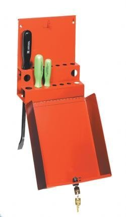 Sunex International 8008 Small Hang-On Screwdriver/Prybar Cabinet with Lock by Sunex (Driver International Sunex)