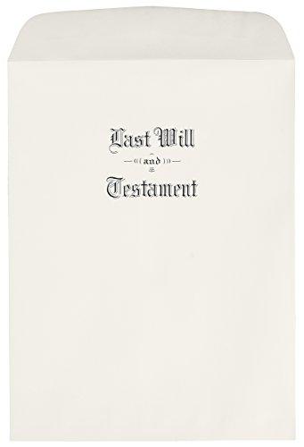 Oversized Last Will & Testament (Testament Envelopes)
