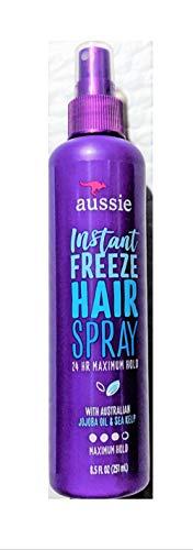 Aussie Hairspray Instant Freeze 8.5oz Pump (2 Pack) ()