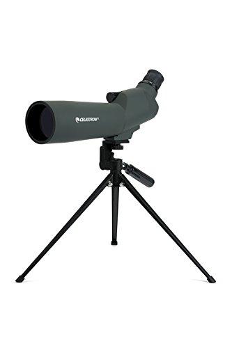 Celestron 20-60x 60 MM 45 Degree UpClose Spotting Scope, 52223 (Best Spotting Scope For The Price)