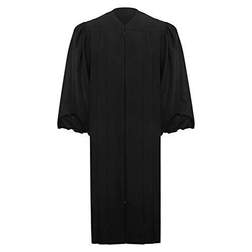 Leishungao Black Chancery Judge Robe Height 5'6''-5'8'']()