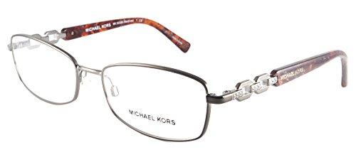 Michael Kors Maldives Eyeglasses MK3002B 1025 Gunmetal 54 16 - Case Kors Michael Eyeglass