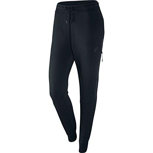 Nike Womens Tech Fleece OG Pants Black/Black 683800-010 Size Small