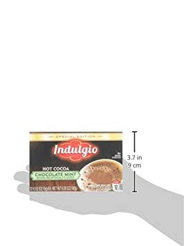 Indulgio Mint Chocolate Cocoa Special Edition Sin for Keurig K-Cup Brewers, 12 Count (Pack of 6) (Compatible with 2.0 Keurig Brewers): Amazon.com: Grocery ...