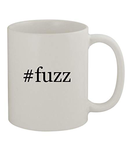 #fuzz - 11oz Sturdy Hashtag Ceramic Coffee Cup Mug, White