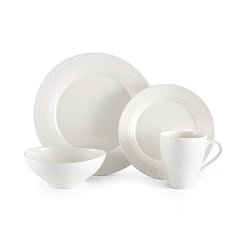 ryder white dinnerware set