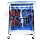Lumex 8529 PVC Garment Rack