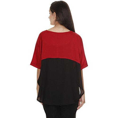 Diseñado Mujer Meiro Alta Superior En Calidad York Block Nueva Color Redondeadas Inferior EB86w