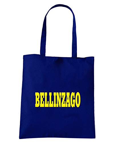 BELLINZAGO Navy Blu STEMMA ITALIA Speed Borsa CITTA Shirt WC0858 Shopper RnTqRv6Yx