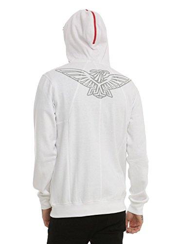 Assassin's Creed White Zip Hoodie (Medium)