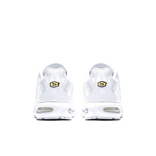 Plus 's Low Men White 001 Air Max NIKE White White Sneakers Top White 5xIXFwI