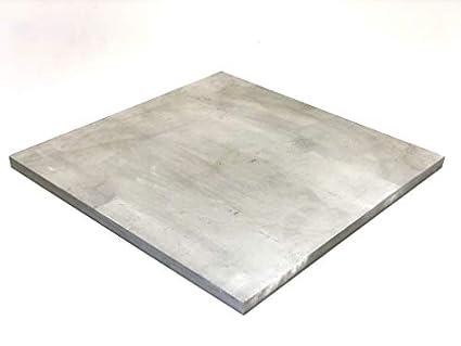 Amazon.com: Placa de acero inoxidable 304 de 11.8 x 11.8 in ...