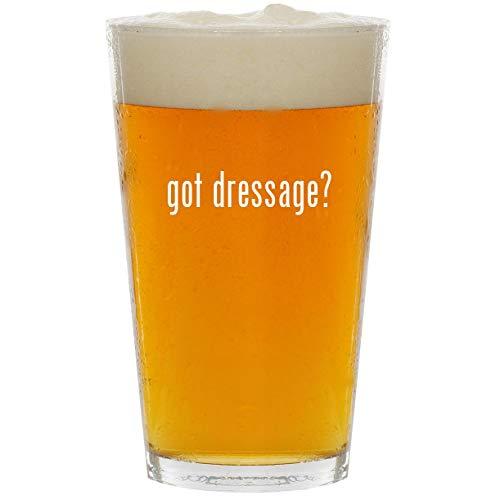 (got dressage? - Glass 16oz Beer Pint)