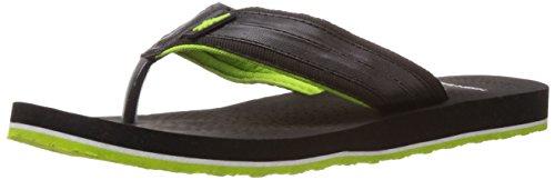High Sierra Men's Black Flip-Flops and House Slippers - 8 UK