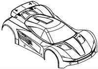 XS5 Body Shell Kit Complete