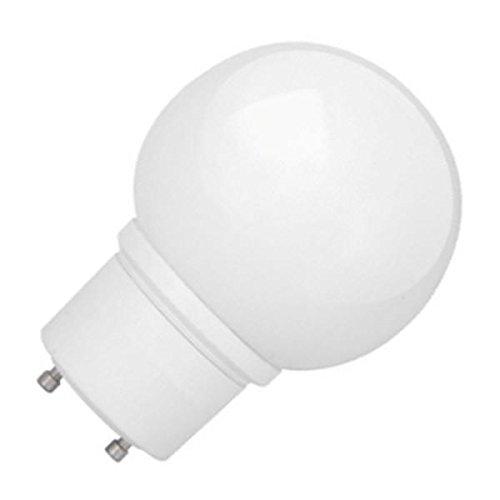 TCP 33114G2550K 14-watt G25 Globe Lamp withGU-24 Base, 5000-Kelvin ()