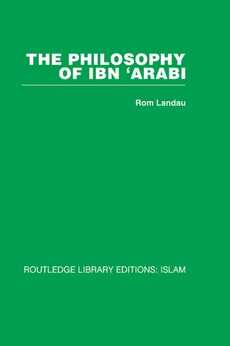The Philosophy of Ibn 'Arabi: Volume 8 Pdf