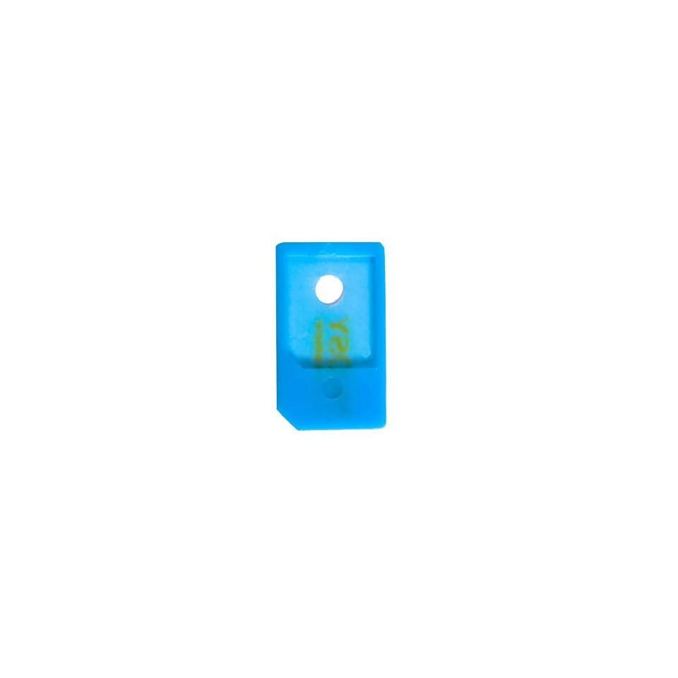 Modern Tech Blue Micro SIM Card Adapter   ideal for iPhone 4 and iPad
