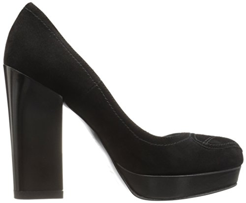 Love Platform Black Women's Pump Chunky Moschino 7TTqZ