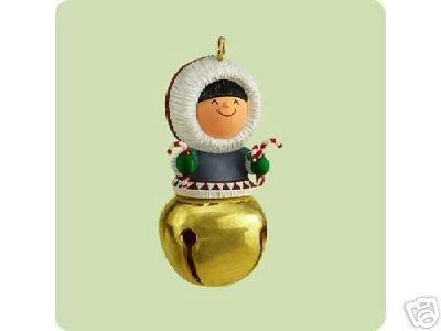 2004 Hallmark Ornament Miniature Christmas Bells # 10 Series