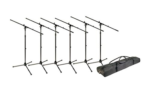 World Tour MSP600 Microphone Stand, Pack of Six by World Tour
