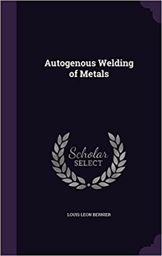 Book Autogenous Welding of Metals