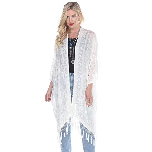 Aris A. Women's Silk Burnout Velvet Fringe Boho Gypsy Festival Ruana -