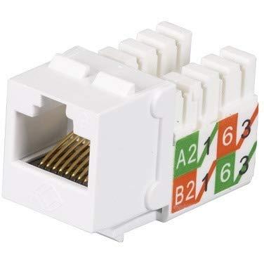 (Black Box Network Services Gigatrue2 Cat6 Jacks Universal Wiring)