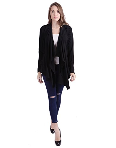 HDE Womens Cardigan Sweater Waterfall