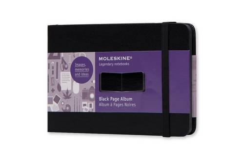 Moleskine Art Black Page Album, Hard Cover, Pocket (3.5