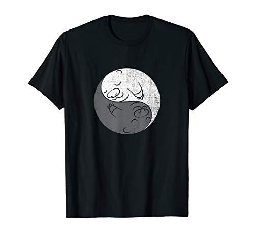Yin And Yang Otter Shirt Matching Couple Valentine -