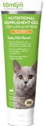 Tomlyn Nutritional Supplement Gel for Cats and Kittens, (Felovite II) 2.5 oz