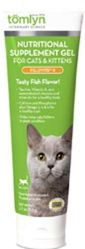 Tomlyn Nutritional Supplement Gel for Cats and Kittens, (Felovite II) 2.5 oz (Best Food For Low Blood Sugar Attack)