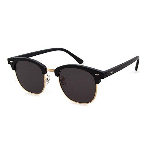 Classic Semi Rimless UV400 Clubmaster sunglasses Frame Brand - Sunglasses Brands Cheap