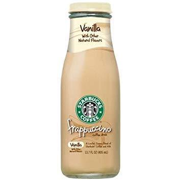 (Starbucks Coffee Frappuccino, Vanilla, 13.7 Oz ( Pack of 12))