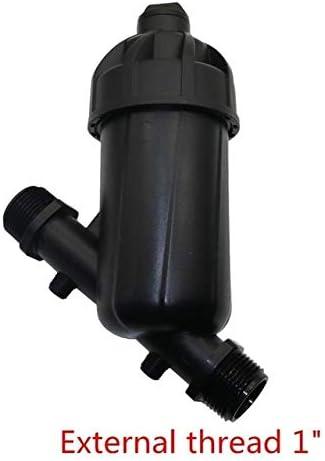 Kammas Filtro de riego Tipo Y, Herramientas de Agricultura, purificador de Agua para jardín con Filtro de riego de Rosca Macho de 3/4 Pulgadas, 1 Pieza: Amazon.es: Jardín