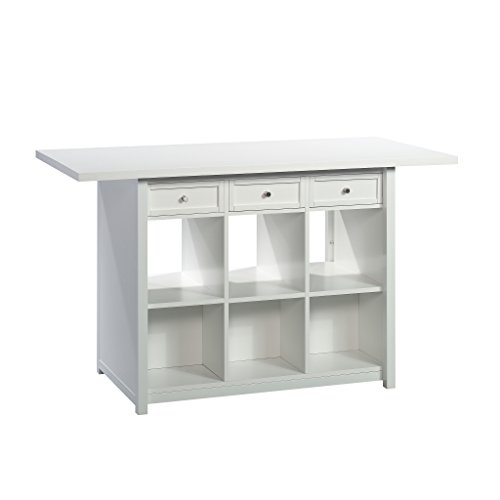 Sauder 421420 Craft Pro Series Work Table, White Finish