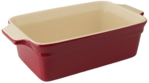BergHOFF Geminis Rectangular Baking Dish, 2 quart, Red