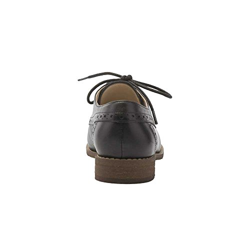Pic / Pay Jamie Donna Oxford - Classica Stringata Oxford In Pelle Nera