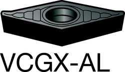 - Diamond Turning Insert, CNGA, 321, UM-7025 (5 Pack) Part CNGA321S0330A 7025