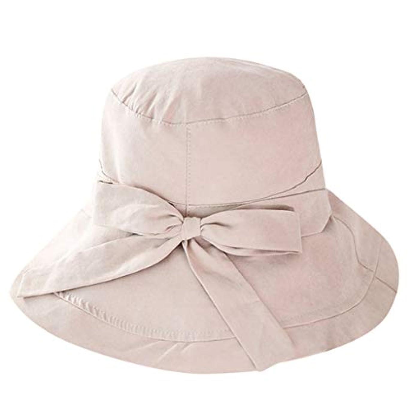 学校嵐が丘精算Kaiweini レディース夏漁夫帽カジュアル日よけバイザービッグエッジクロスキャップ人気の屋外折りたたみビーチキャップチャイルドハット日焼け止め太陽帽