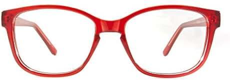 Retro Eyeworks Ocean Bifocal Anti-glare Reading Glasses 50-17 MM 2.5x Red